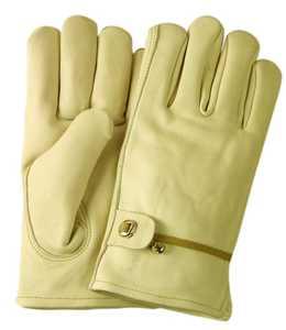 Illinois Glove Co 20WM Glove Cowhide Wmn Tape&ball M
