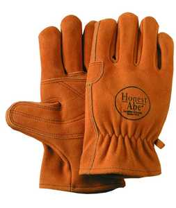Illinois Glove Co 35L Driver Premium Suede Side Palm Lg