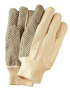 Illinois Glove Co 813L Glove Pvc Dot Cotton Kw Lrg