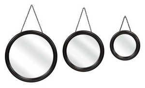 Imax Corp 2634-3 Round Hanging Mirrors