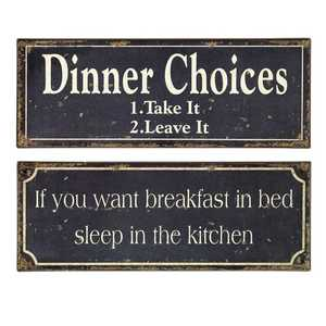 Imax Corp 27485-2 Breakfast & Dinner Signs