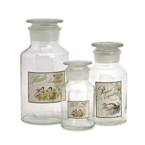 Imax Corp 27460-3 Apothecary Jars