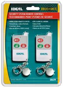 Ideal Security SK629U Remote Controls