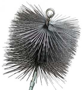 Imperial BR0184 8 in Round Wire Chimney Brush