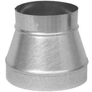 Imperial GV0781-A 5 in -4 in Galvanized Increaser/Reducer, No Crimp