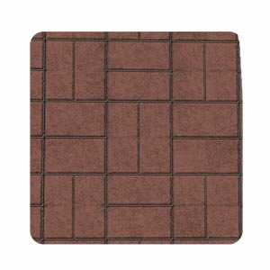 Imperial BM0309RC 28 in X 32 in Brick Pattern Stove Board