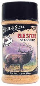Hi Mountain Jerky 00010 Elk Steak Western Style Seasoning 3.5 Oz