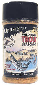 Hi Mountain Jerky 00009 Wild River Trout Western Style Seasoning 2.25 Oz