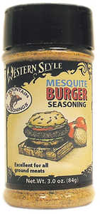 Hi Mountain Jerky 00020 Mesquite Burger Western Style Seasoning 2.25 Oz
