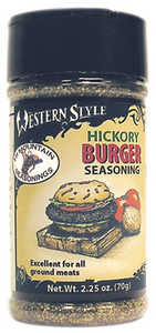 Hi Mountain Jerky 00021 Hickory Burger Western Style Seasoning 2.25 Oz