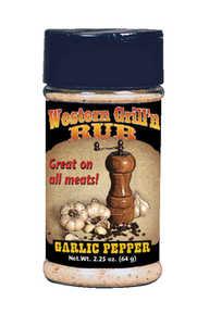 Hi Mountain Jerky 00059 Seasoning Western Garlic Grill N Rub 2.25-Oz