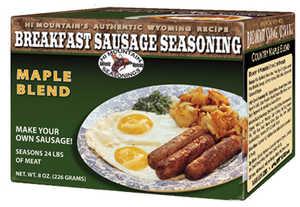 Hi Mountain Jerky 00040 Country Maple Breakfast Sausage