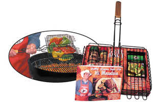 Hi Mountain Jerky 00087 Grill Basket