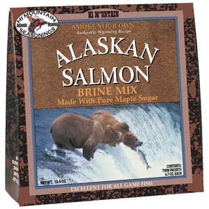 Hi Mountain Jerky 00006 Brine Alaskan Salmon Mix
