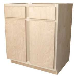 KAPAL WOOD PRODUCTS B30-BHP 30 In Unfinished Birch /Poplar Base Cabinet