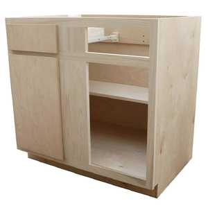 KAPAL WOOD PRODUCTS BB42-BHP 42 In Unfinished Birch /Poplar Blind Base Cabinet