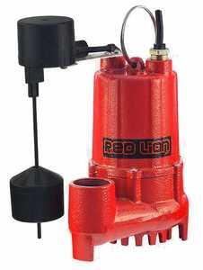 Red Lion RL-SC50V Sump Pump 1/2hp 4000gph Cast Iron