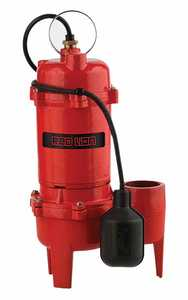 Red Lion RL-WC50TA Sewage Pump 5600gph 1/2hp