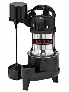 Red Lion RL-SS50VH Premium Submersible Stainless Steel Sump Pump 1/2hp