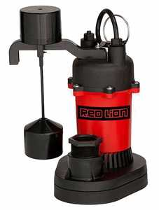 Red Lion RL-SP33V Sump Pump W/Vertical Switch 1/3hp