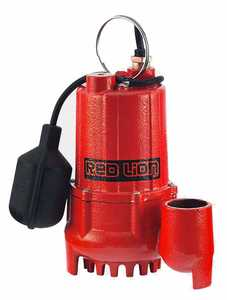 Red Lion RL-SC33T Pump Sump 1/3hp Cast Iron W/Teathered Switch
