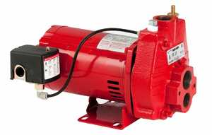 Red Lion RJC-100 High Performance Cast Iron Convertible Jet Pump 1hp
