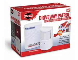 U.S. Patrol TV3731 Driveway Patrol Infrared Wireless Alert System