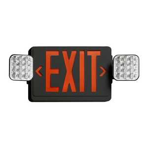 Juno Lighting NXPCL3GWH LED Combo Exit Sign/Emergency Light