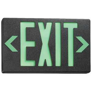 Juno Lighting NXPB3GWH Slim-Profile LED Exit Sign