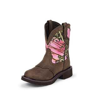 Justin Boots L9610 Women's Aged Bark Gypsy Boots 6.5b
