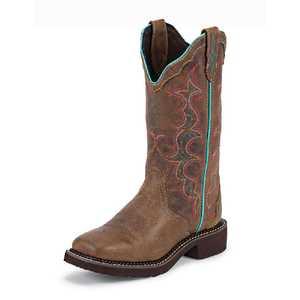 Justin Boots L2900 Women's Tan Classic Gypsy Boots 8.5b