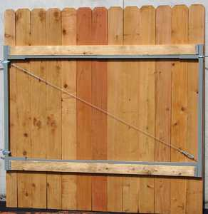 JEWETT-CAMERON LUMBER AG72 Adjust A Gate Single Gate Hardware