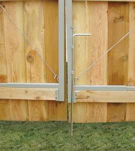 JEWETT-CAMERON LUMBER UL301 Drop Rod For Double Drive Gate