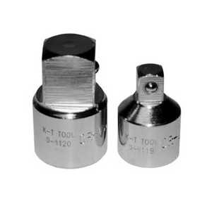 K-T Industries Inc 0-4119 Adapter Socket 1/2 Drive 1/2fx3/8m