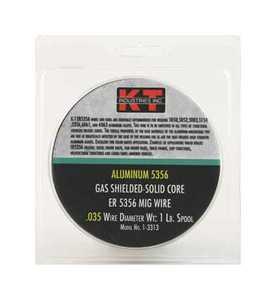 K-T Industries Inc 1-3313 Alum 5356 Mig Wire .035 1lb