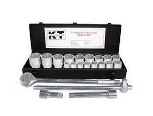 K-T Industries Inc 1-5621 Socket Set 3/4 Drive 21pc