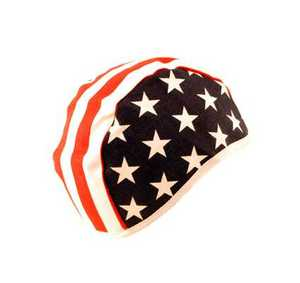 K-T Industries 4-3135 Stars And Stripes Beanie Hat
