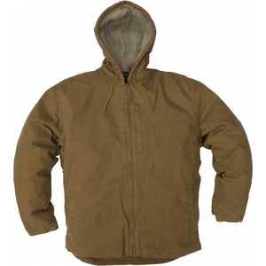 Key Industries 334.28 Premium Berber Lined Hooded Jacket Saddle XLarge Regular