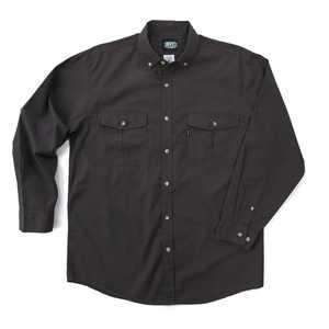 Key Industries 532.03 Medium Graphite Rip Stop Long Sleeve Shirt