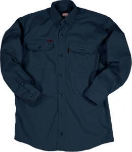 Key Industries 564.41 Large Tall Navy F.R. Long Sleeve Shirt