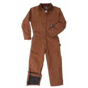 Key Industries 959.28 Youth's Insulated Duck Coverall, Saddle Xlarge
