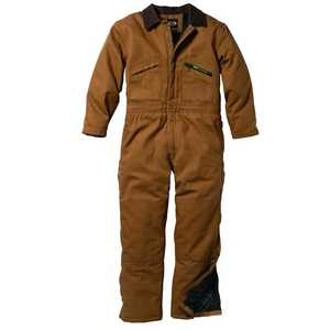 Key Industries 975.29 Insulated Duck Coverall, Saddle Xlr