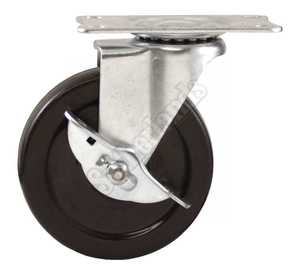 Waxman 4326499N Caster Swivel 4 in Industrial W/Brake