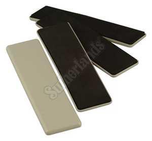 Waxman 4703695N Reusable Sliders 21/2 x 9 in 4pk
