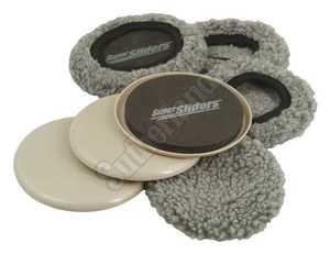 Waxman 4703995N Reusable Sliders W/Fbrc Socks 5 in
