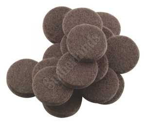 Waxman 4728495N Felt Pad 1 in Heavy Duty Brown