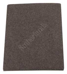 Waxman 4740095N Felt Pad 41/2 x 6 Brown