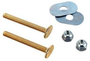 Waxman 7642100T Toilet Bolt Set 2.25 in