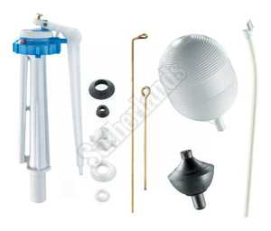 Waxman 7030000N Repair Kit Toilet Less Flapper