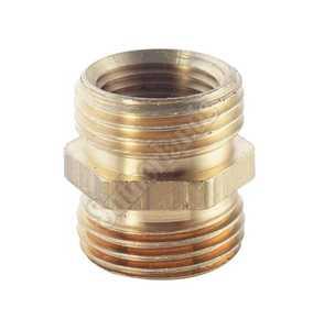 Waxman 7412100N 3/4-Inch X 3/4-Inch Brass Male Hose Connector